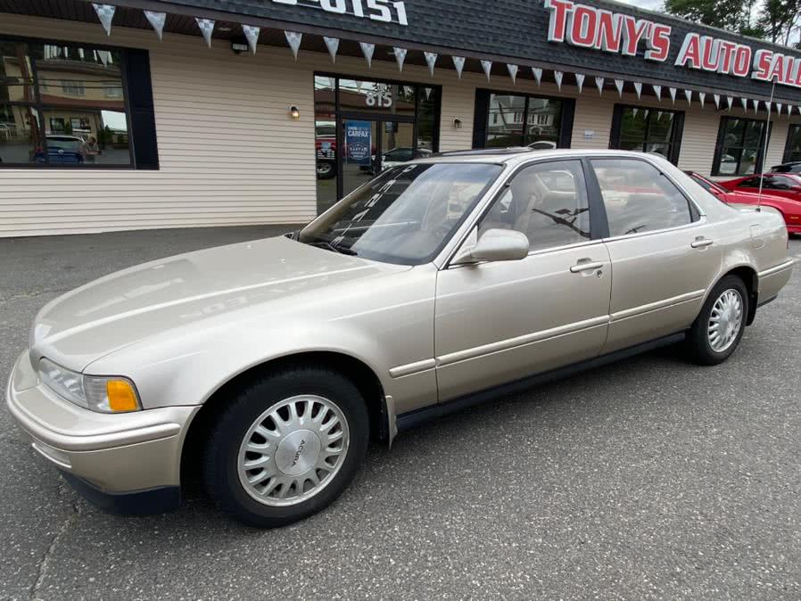 Used Acura Legend 4dr Sedan LS Auto 1993 | Tony's Auto Sales. Waterbury, Connecticut