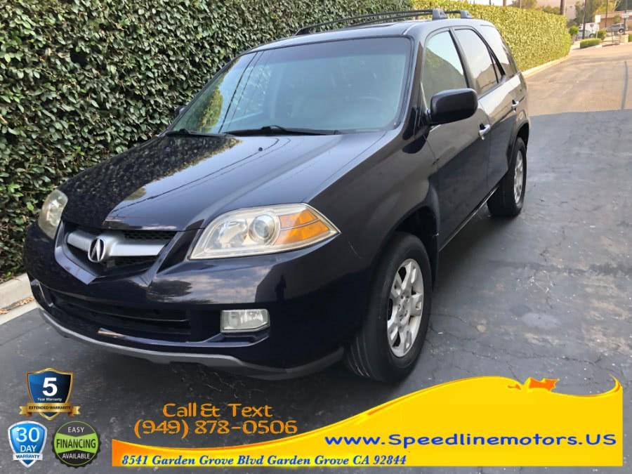 Used Acura MDX 4dr SUV Touring Pkg RES w/Nav 2004 | Speedline Motors. Garden Grove, California