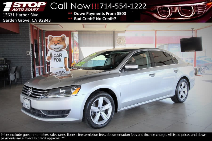 Used 2013 Volkswagen Passat in Garden Grove, California | 1 Stop Auto Mart Inc.. Garden Grove, California