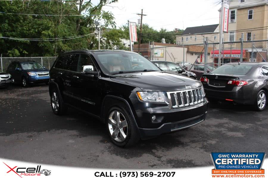Used 2011 Jeep Grand Cherokee  Overland in Paterson, New Jersey | Xcell Motors LLC. Paterson, New Jersey