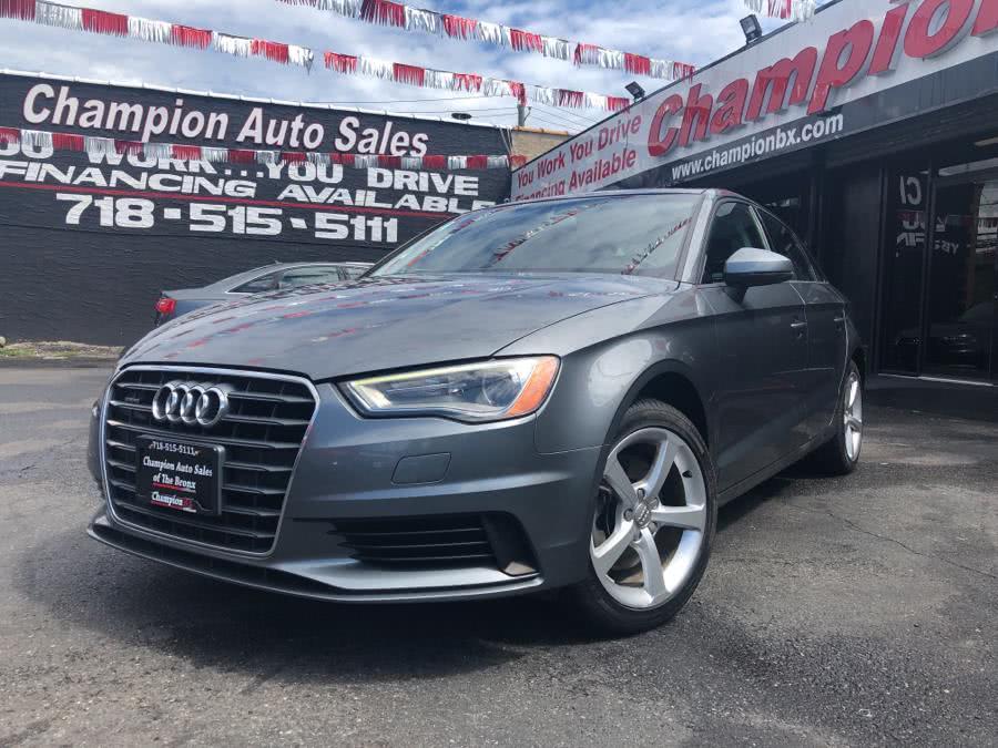 Used 2015 Audi A3 in Bronx, New York | Champion Auto Sales. Bronx, New York