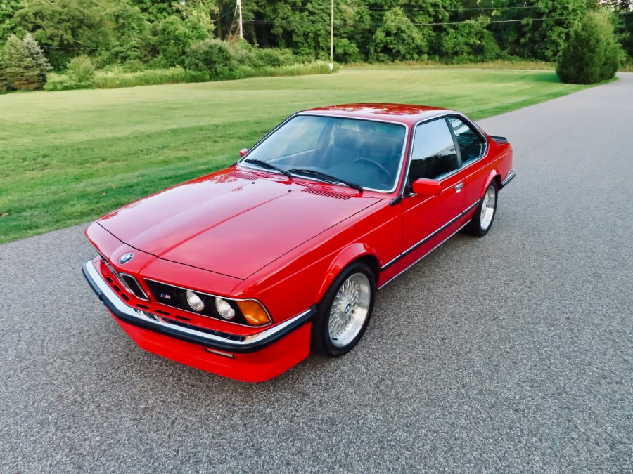 Used 1986 BMW M635CSI in North Salem, New York | Meccanic Shop North Inc. North Salem, New York