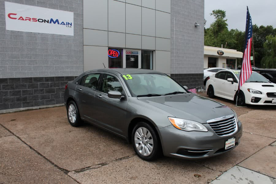 Used 2013 Chrysler 200 in Manchester, Connecticut | Carsonmain LLC. Manchester, Connecticut