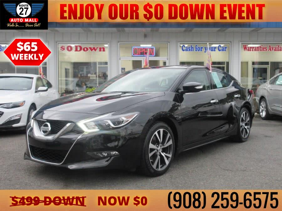 Used 2017 Nissan Maxima in Linden, New Jersey | Route 27 Auto Mall. Linden, New Jersey