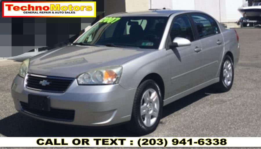 Used 2007 Chevrolet Malibu in Danbury , Connecticut | Techno Motors . Danbury , Connecticut