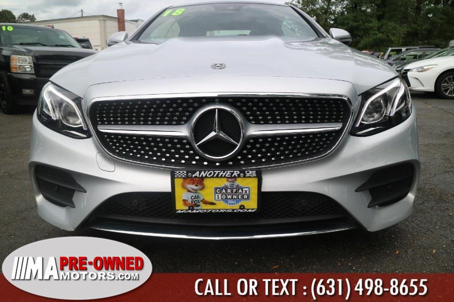 Used Mercedes-Benz E400 coupe E 400 4MATIC Coupe 2018 | M & A Motors. Huntington, New York