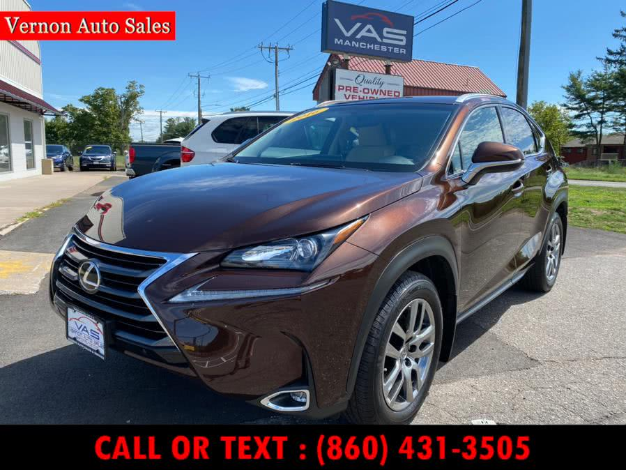 Used 2016 Lexus NX 200t in Manchester, Connecticut | Vernon Auto Sale & Service. Manchester, Connecticut