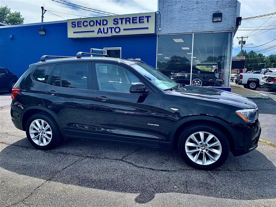 Used 2015 BMW X3 in Manchester, New Hampshire | Second Street Auto Sales Inc. Manchester, New Hampshire