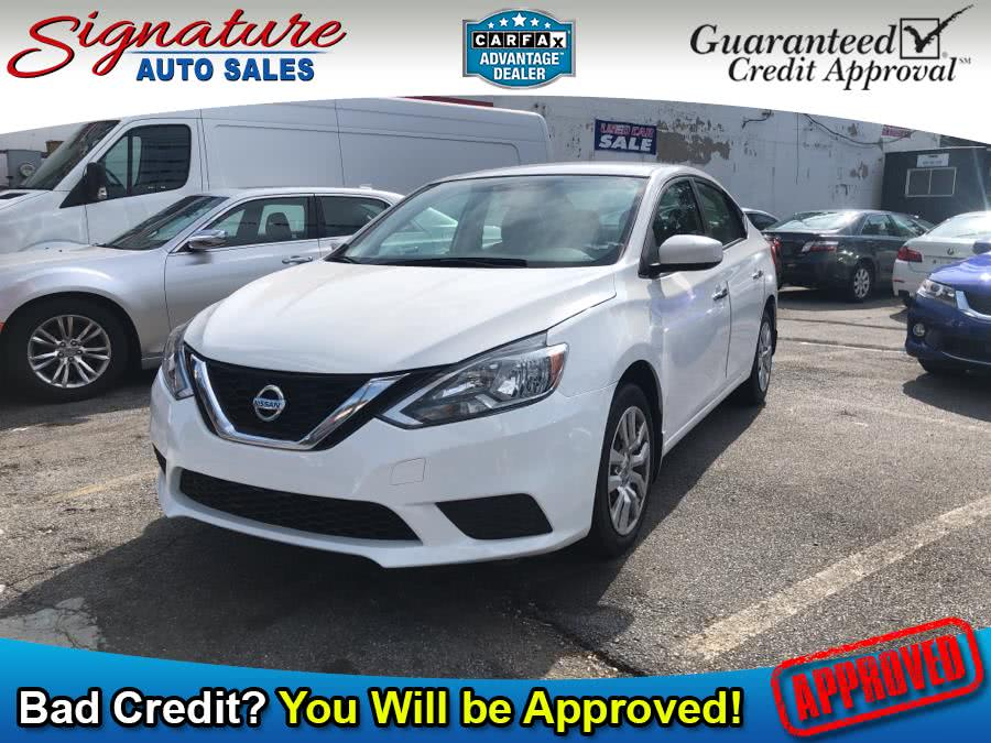Used Nissan Sentra S CVT 2017 | Signature Auto Sales. Franklin Square, New York