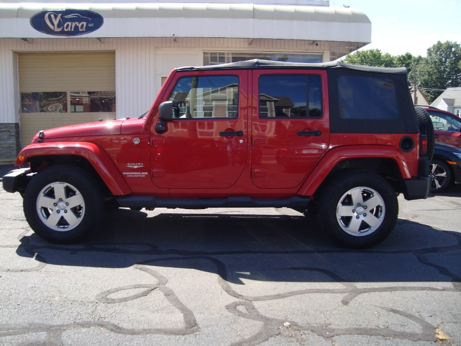Used Jeep Wrangler Unlimited 4WD 4dr Sahara 2011 | Yara Motors. Manchester, Connecticut