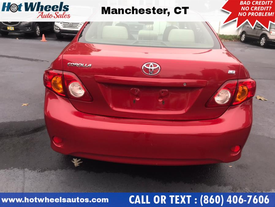 Used Toyota Corolla 4dr Sdn Auto LE 2009   Hot Wheels Auto Sales LLC. Manchester, Connecticut