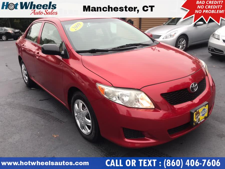 Used Toyota Corolla 4dr Sdn Auto LE 2009 | Hot Wheels Auto Sales LLC. Manchester, Connecticut
