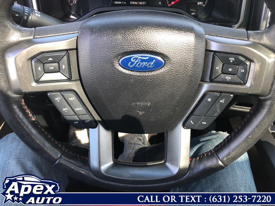 "Used Ford F-150 4WD SuperCrew 145"" Lariat 2016   Apex Auto. Selden, New York"