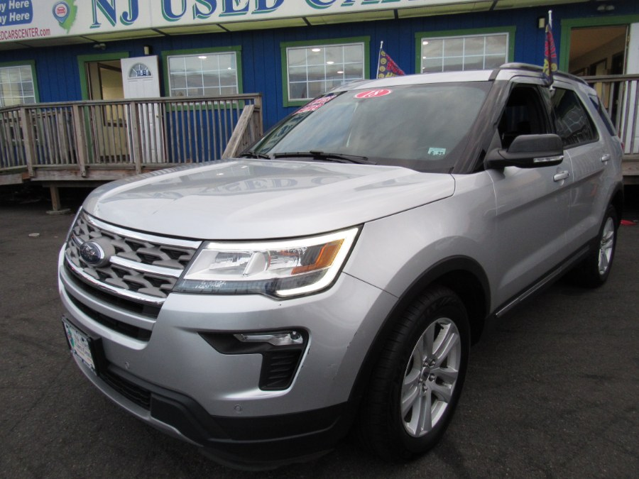 Used Ford Explorer XLT 4WD 2018 | NJ Used Cars Center. Irvington, New Jersey