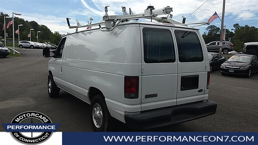 Used Ford Econoline Cargo Van E-250 Commercial natural gas fuel 2010 | Performance Motor Cars. Wilton, Connecticut