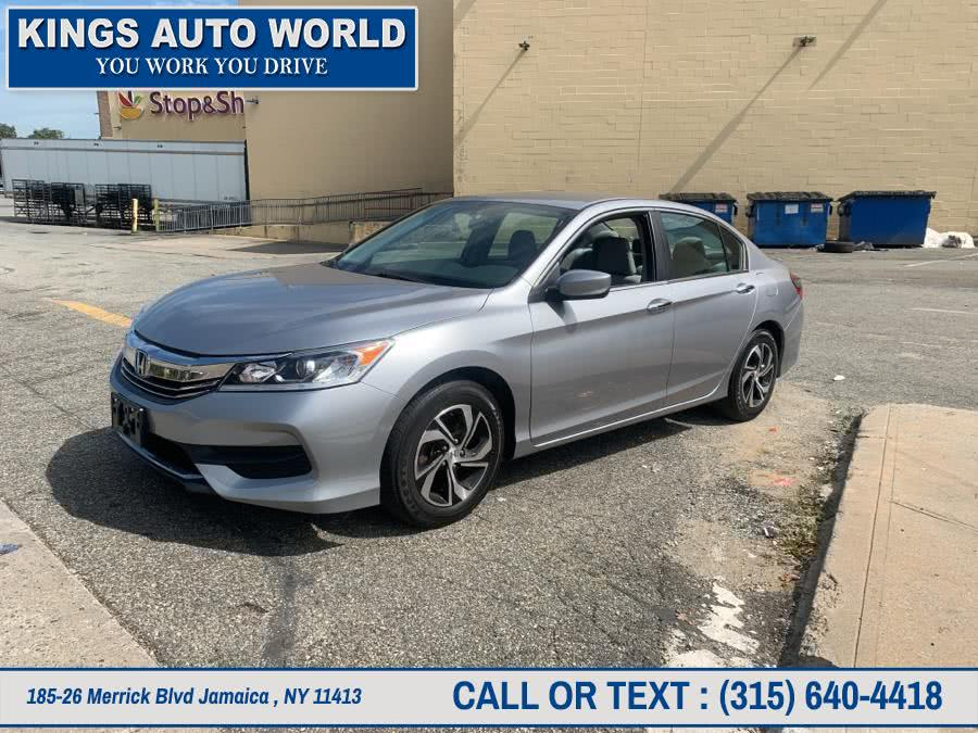 Used Honda Accord Sedan LX CVT 2017 | Kings Auto World. Jamaica , New York