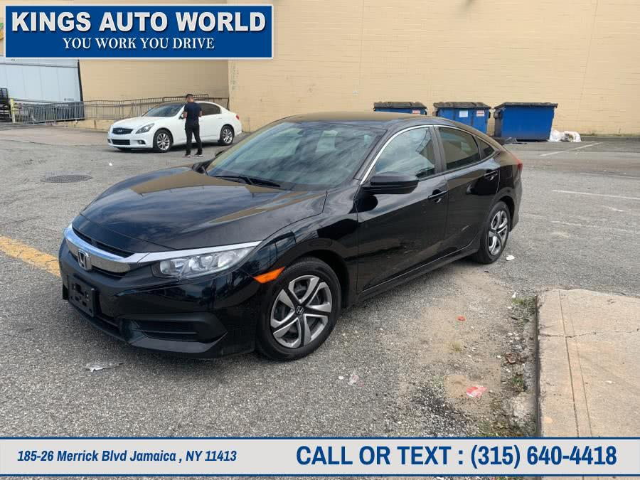 Used Honda Civic Sedan LX CVT 2017 | Kings Auto World. Jamaica , New York