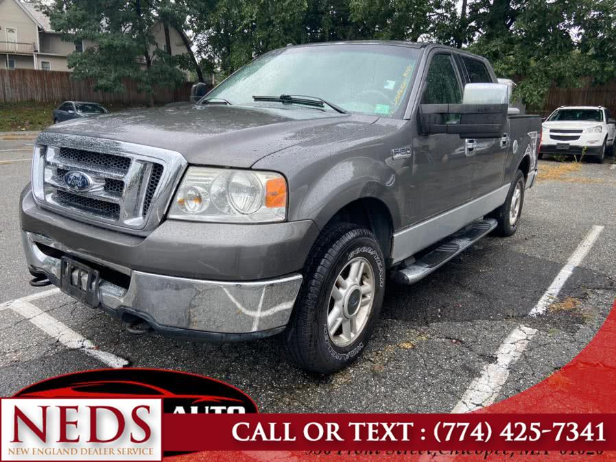 """Used Ford F-150 4WD SuperCrew 150"""" XLT 2008 