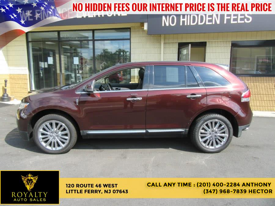 Used 2012 Lincoln MKX in Little Ferry, New Jersey | Royalty Auto Sales. Little Ferry, New Jersey