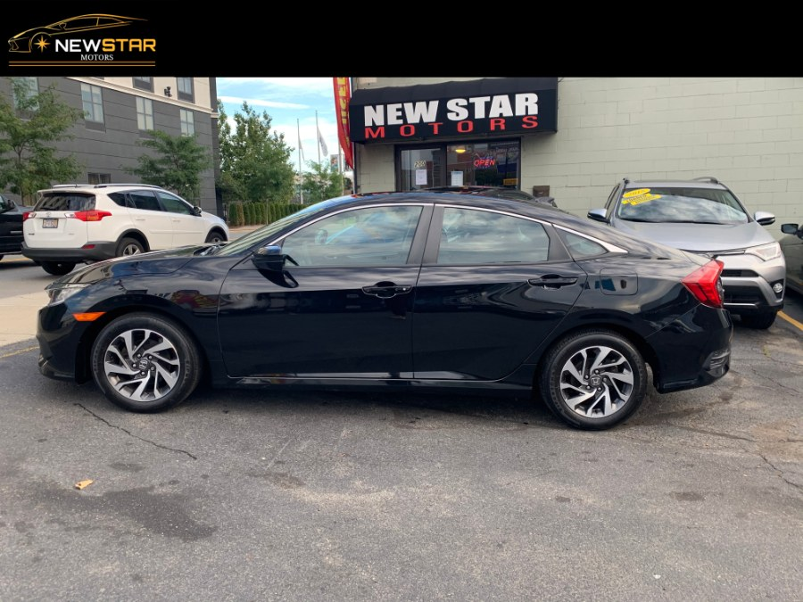 Used Honda Civic Sedan EX CVT 2017 | New Star Motors. Chelsea, Massachusetts