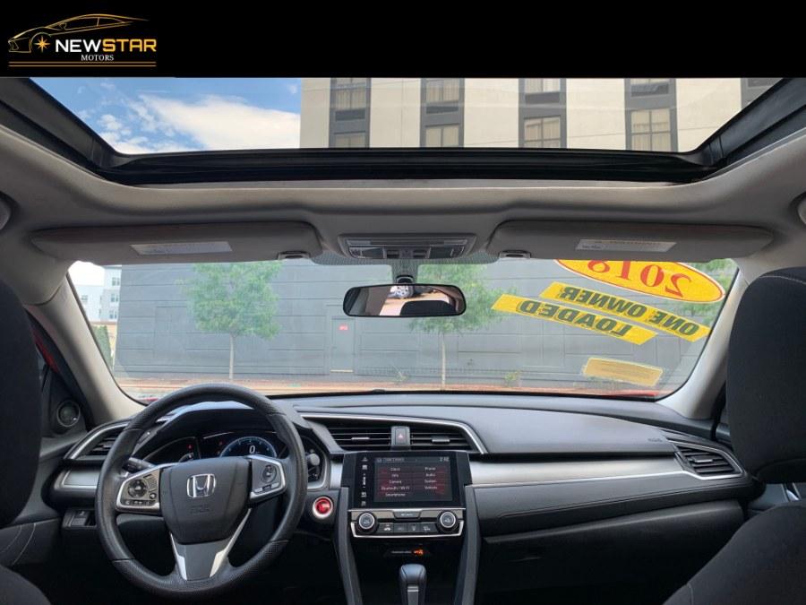 Used Honda Civic Sedan EX CVT 2018   New Star Motors. Chelsea, Massachusetts