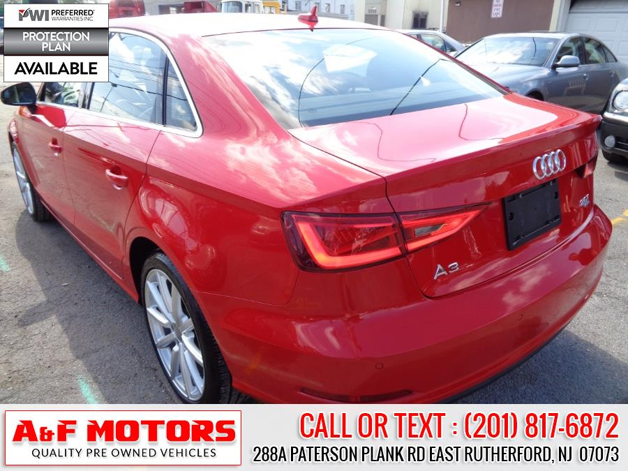 Used Audi A3 4dr Sdn quattro 2.0T Premium Plus 2015   A&F Motors LLC. East Rutherford, New Jersey
