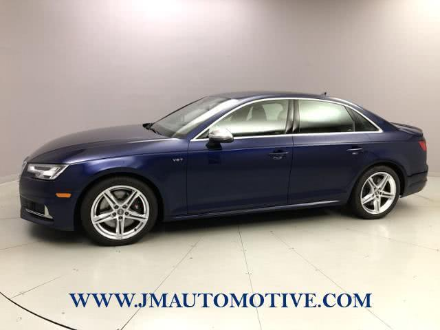 Used 2018 Audi S4 in Naugatuck, Connecticut | J&M Automotive Sls&Svc LLC. Naugatuck, Connecticut