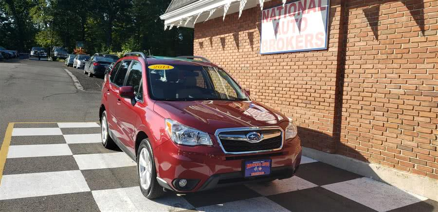 Used Subaru Forester 4dr Auto 2.5i Limited 2014 | National Auto Brokers, Inc.. Waterbury, Connecticut