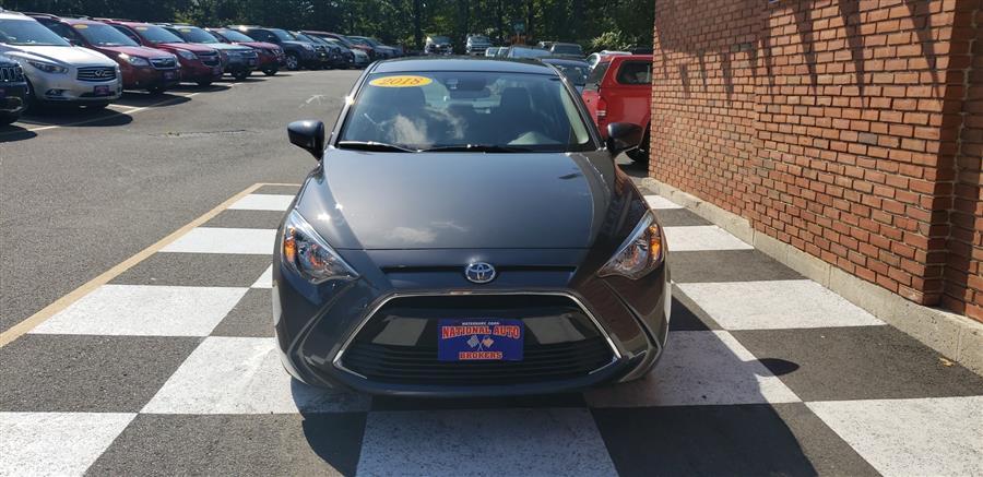 Used Toyota Yaris iA Manual 2018 | National Auto Brokers, Inc.. Waterbury, Connecticut