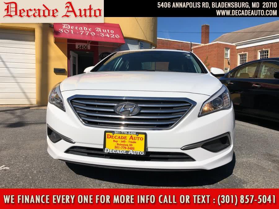 Used 2017 Hyundai Sonata in Bladensburg, Maryland | Decade Auto. Bladensburg, Maryland