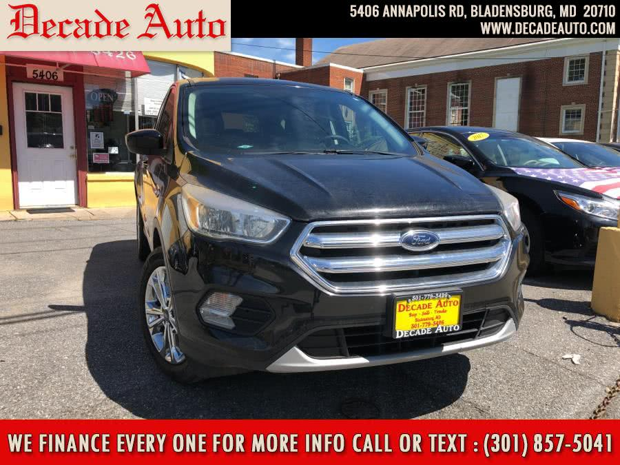 Used 2017 Ford Escape in Bladensburg, Maryland | Decade Auto. Bladensburg, Maryland