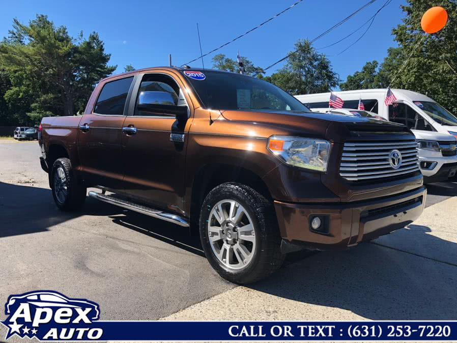 Used 2015 Toyota Tundra 4WD Truck in Selden, New York | Apex Auto. Selden, New York