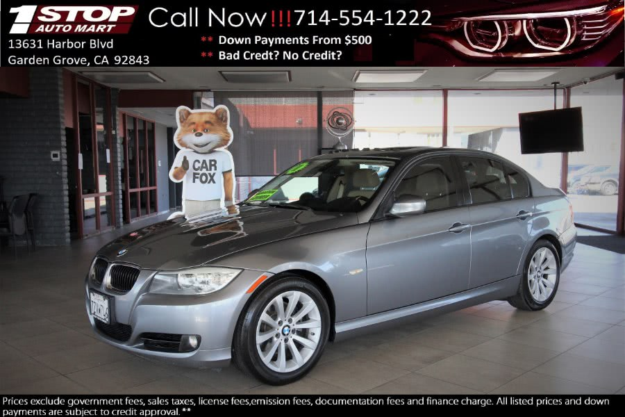 2011 BMW 3 Series 4dr Sdn 328i RWD SULEV, available for sale in Garden Grove, CA