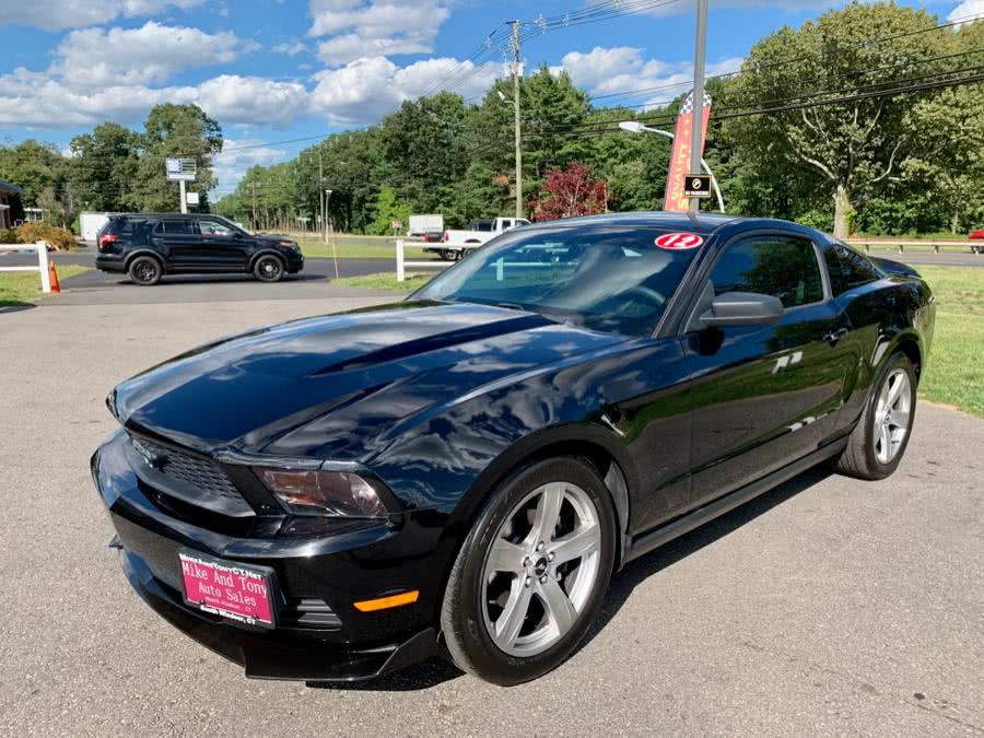 Used 2012 Ford Mustang in South Windsor, Connecticut | Mike And Tony Auto Sales, Inc. South Windsor, Connecticut