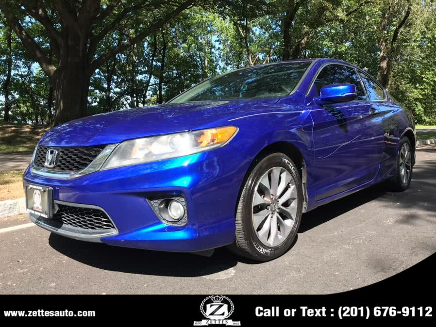 Used Honda Accord Cpe 2dr I4 Auto EX-L 2013 | Zettes Auto Mall. Jersey City, New Jersey
