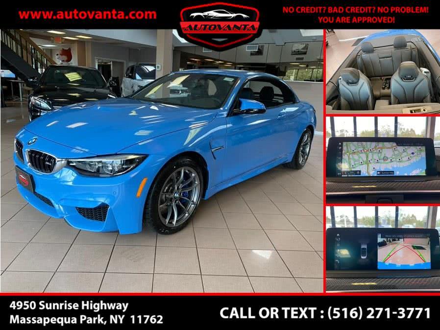Used BMW M4 Convertible 2020 | Autovanta. Massapequa Park, New York