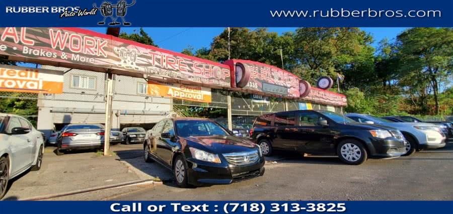 Used Honda Accord Sdn 4dr I4 Auto LX 2012 | Rubber Bros Auto World. Brooklyn, New York