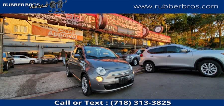 Used FIAT 500 2dr Conv Pop 2012   Rubber Bros Auto World. Brooklyn, New York