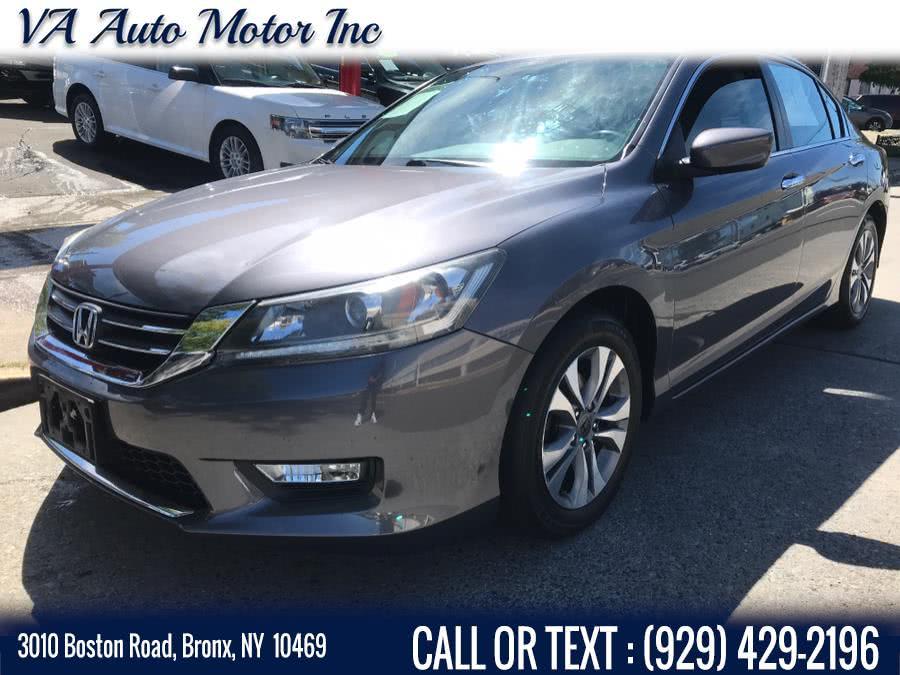 Used Honda Accord Sedan 4dr I4 CVT LX 2015 | VA Auto Motor Inc. Bronx, New York