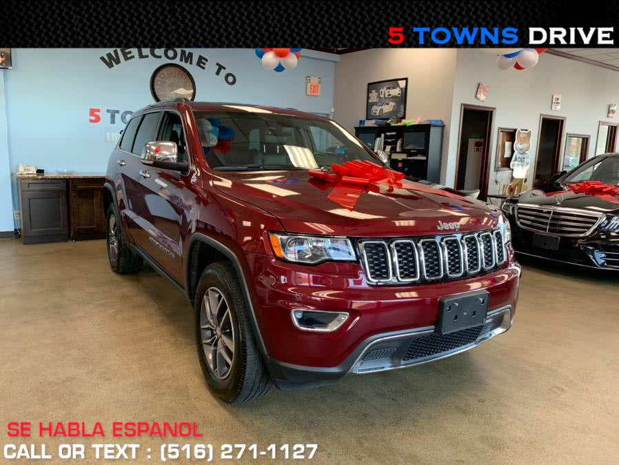 2017 Jeep Grand Cherokee Limited 4x4, available for sale in Inwood, NY