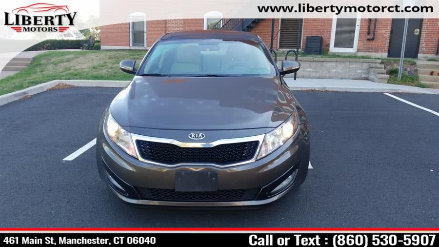 Used 2012 Kia Optima in Manchester, Connecticut | Liberty Motors. Manchester, Connecticut