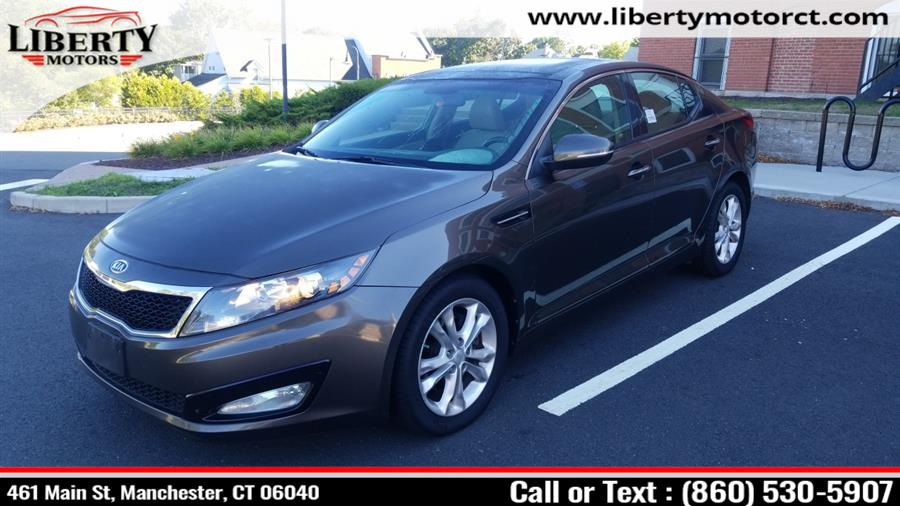 Used Kia Optima 4dr Sdn 2.4L Auto EX 2012 | Liberty Motors. Manchester, Connecticut