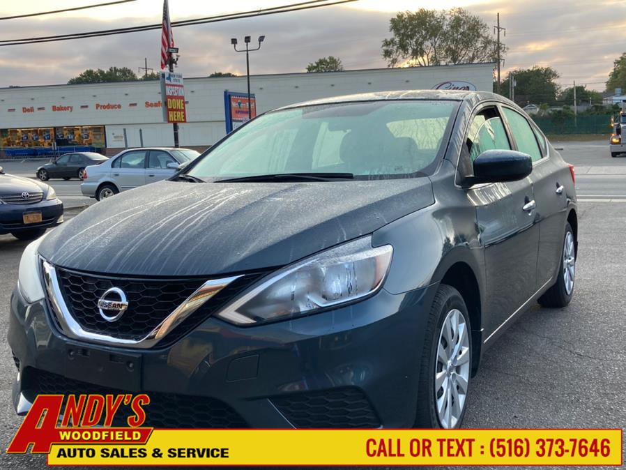 Used Nissan Sentra S CVT 2017 | Andy's Woodfield. West Hempstead, New York