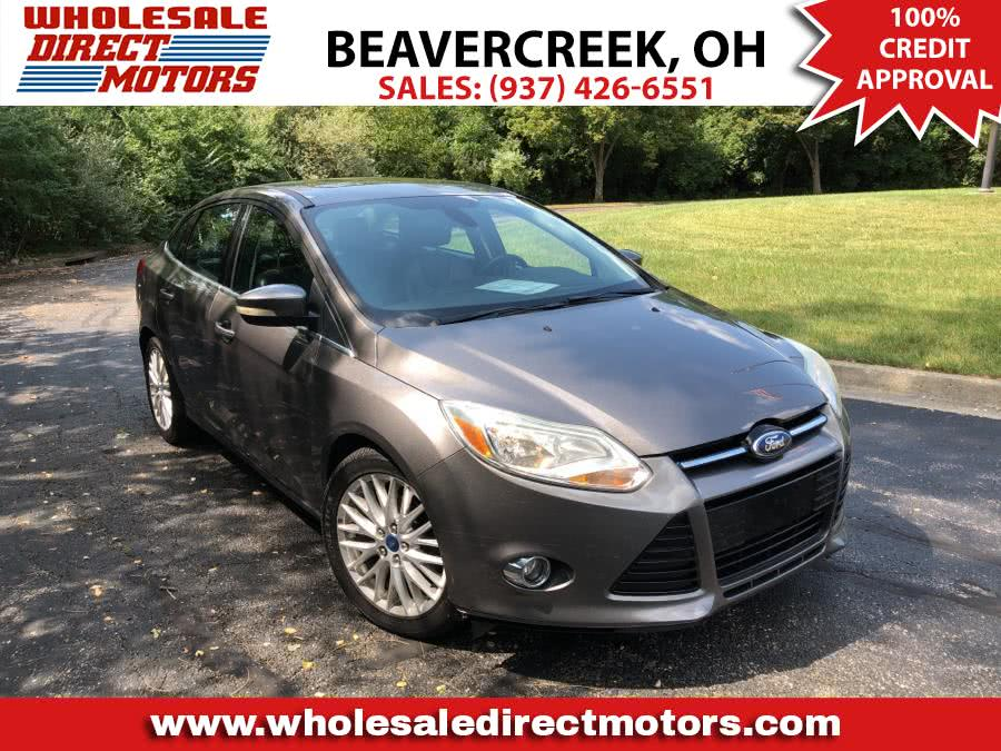 Used Ford Focus 4dr Sdn SEL 2012 | Wholesale Direct Motors. Beavercreek, Ohio