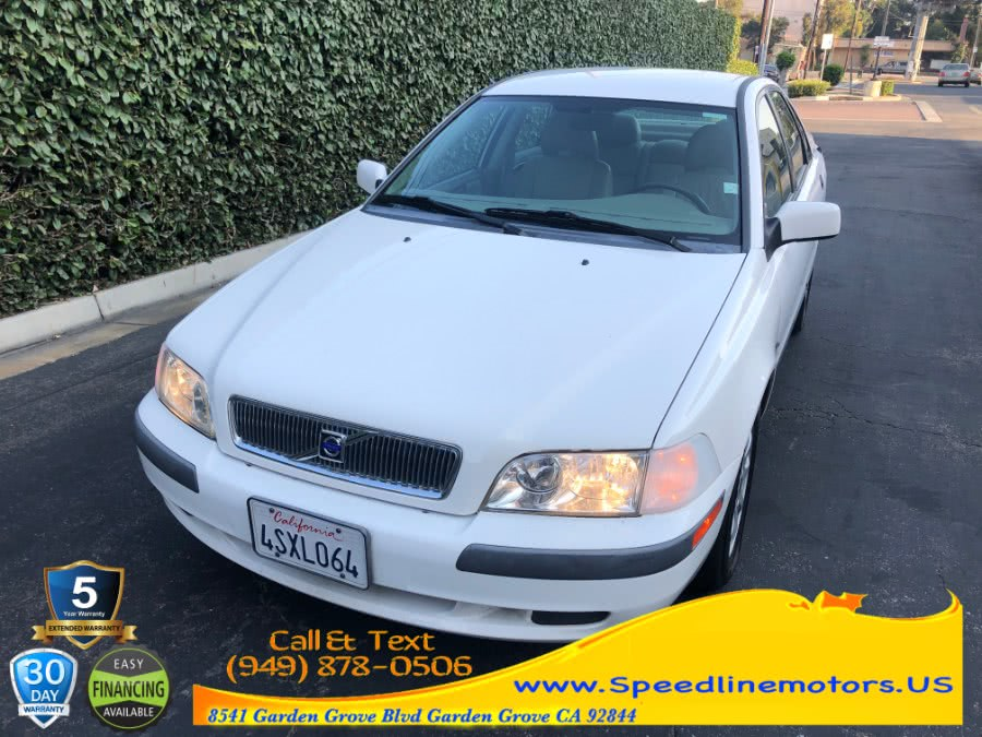 Used Volvo S40 4dr Sdn Sport Edition 2001 | Speedline Motors. Garden Grove, California