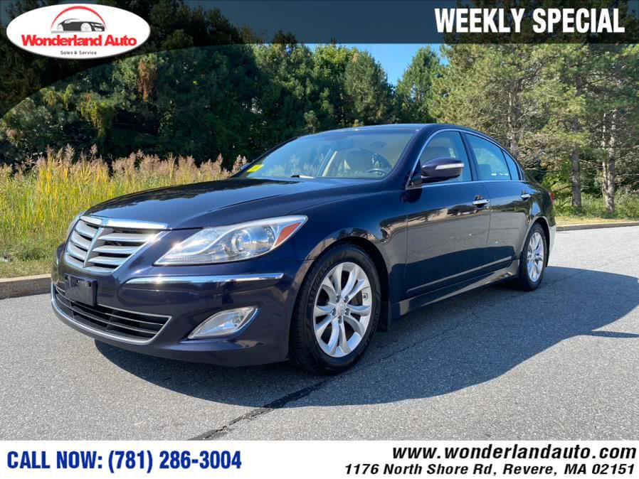 Used 2012 Hyundai Genesis in Revere, Massachusetts | Wonderland Auto. Revere, Massachusetts