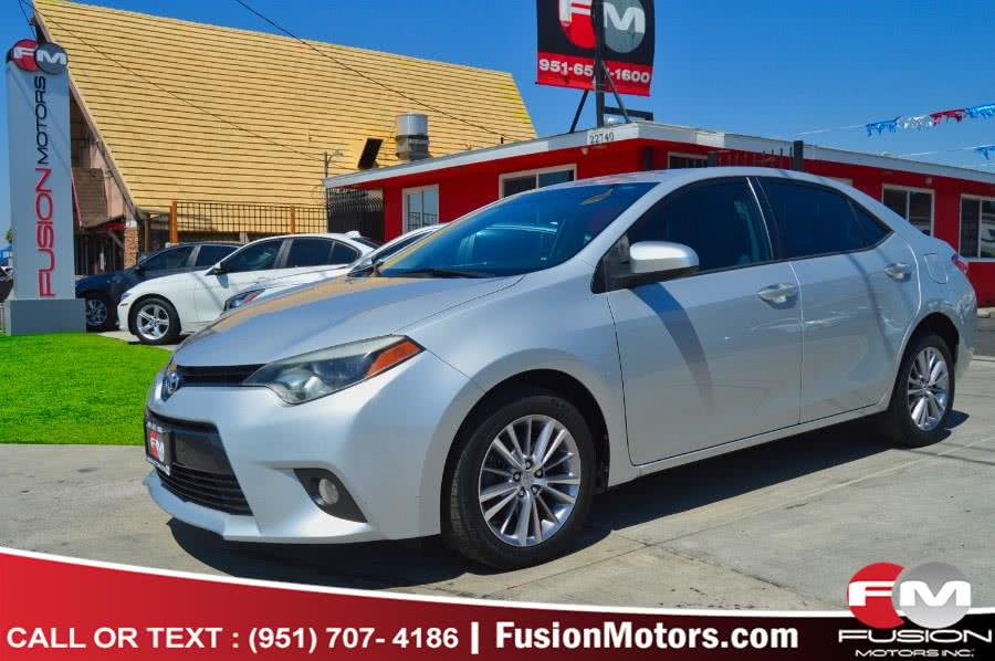 Used 2015 Toyota Corolla in Moreno Valley, California | Fusion Motors Inc. Moreno Valley, California