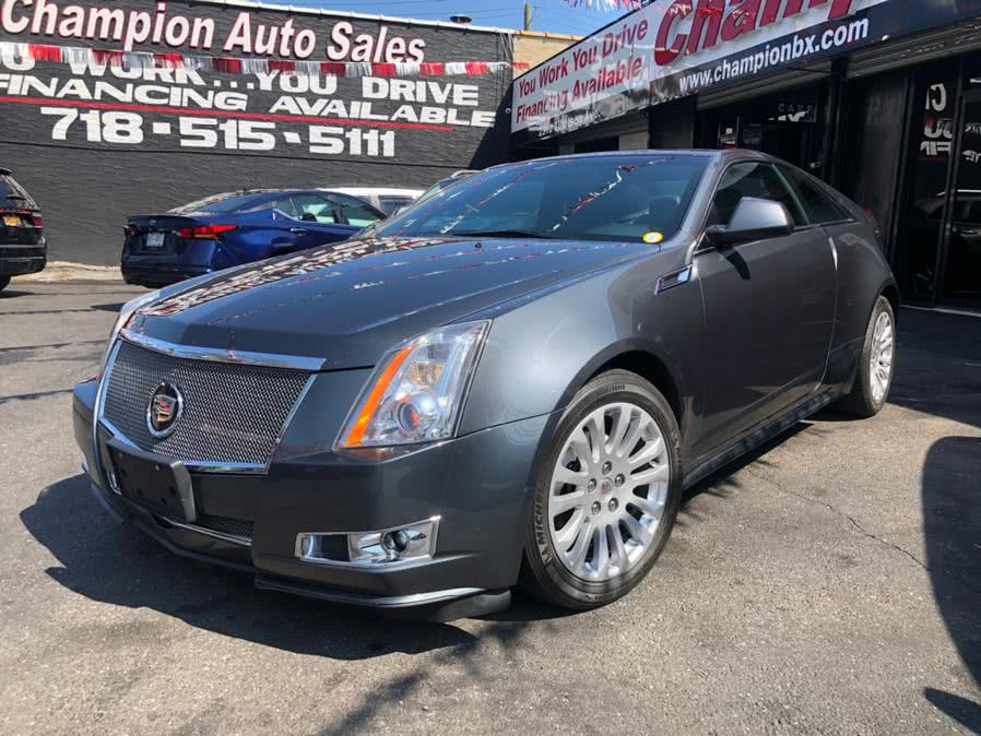 Used 2012 Cadillac CTS Coupe in Bronx, New York | Champion Auto Sales Of The Bronx. Bronx, New York