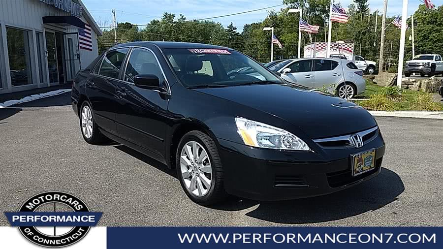 Used 2007 Honda Accord Sdn in Wilton, Connecticut   Performance Motor Cars. Wilton, Connecticut