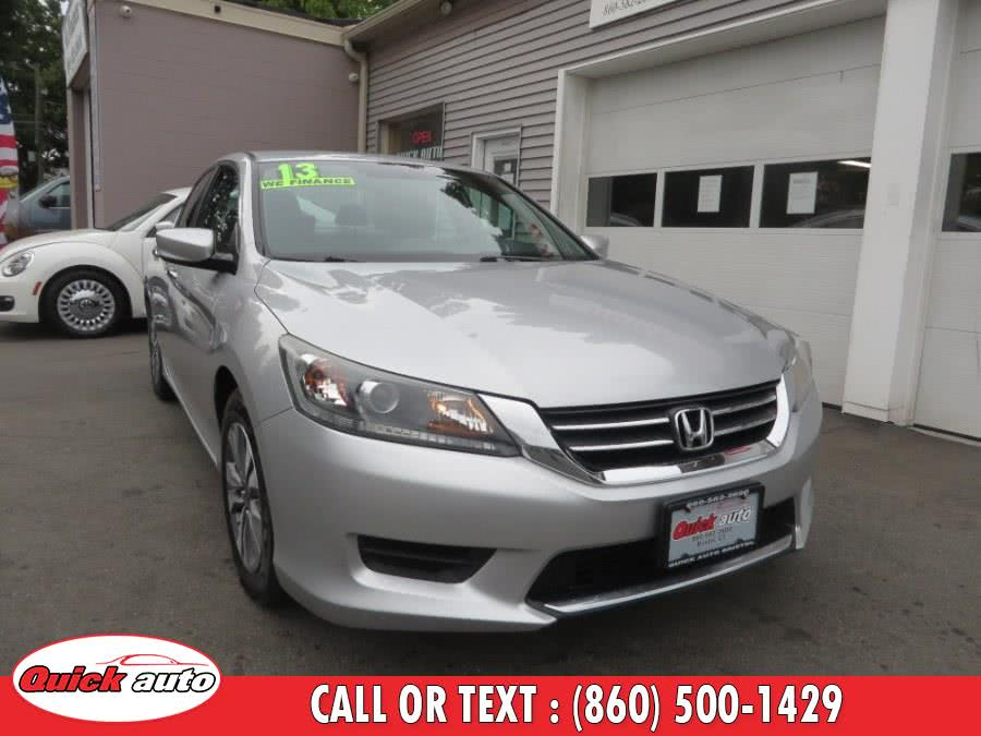 Used 2013 Honda Accord Sdn in Bristol, Connecticut | Quick Auto LLC. Bristol, Connecticut